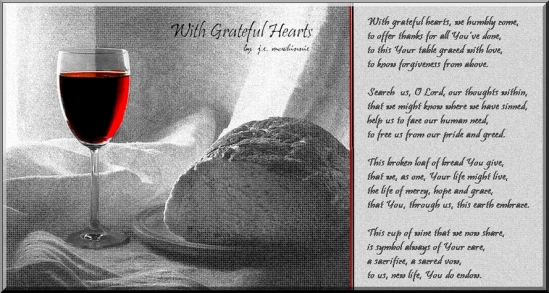 withgrateful hearts